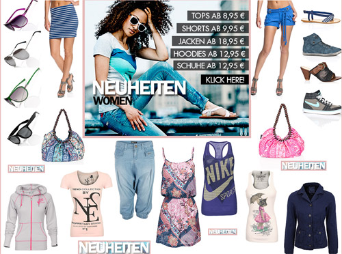 Neue Damenmode im 77 Onlineshop