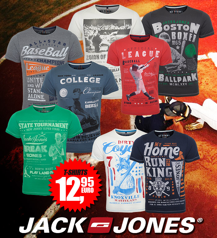 Herren T-Shirts College von Jack & Jones