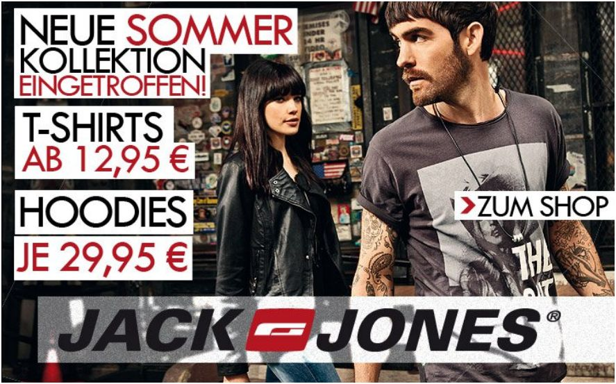 Jack &amp; Jones Herrenkollektion NEU!