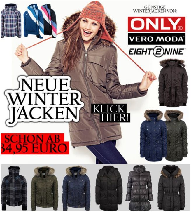 ONLY Damen Winterjacken